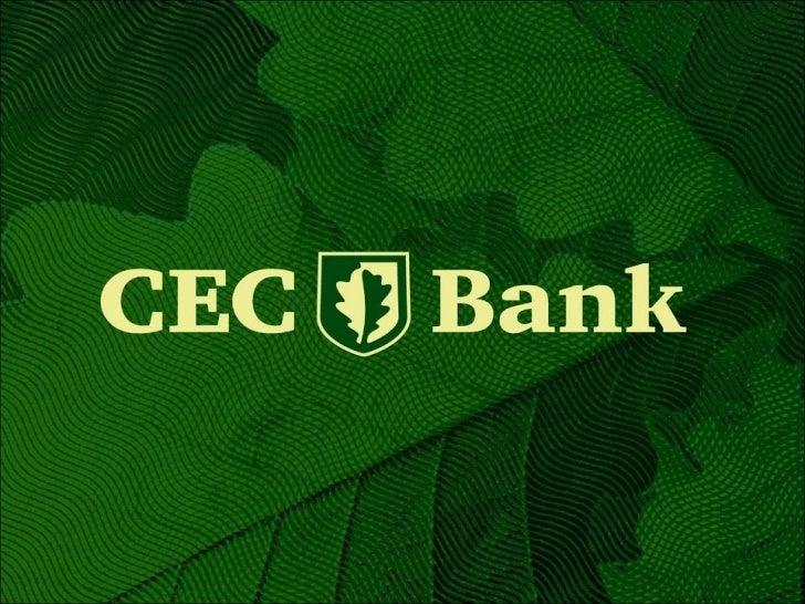 Cec bank - 3mart2011