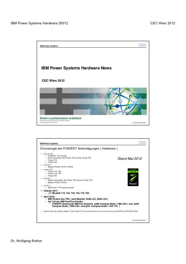 IBM Power Systems Hardware 20012                                                                                          ...