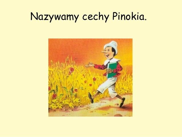 Pinokio - cechy bohatera lektury