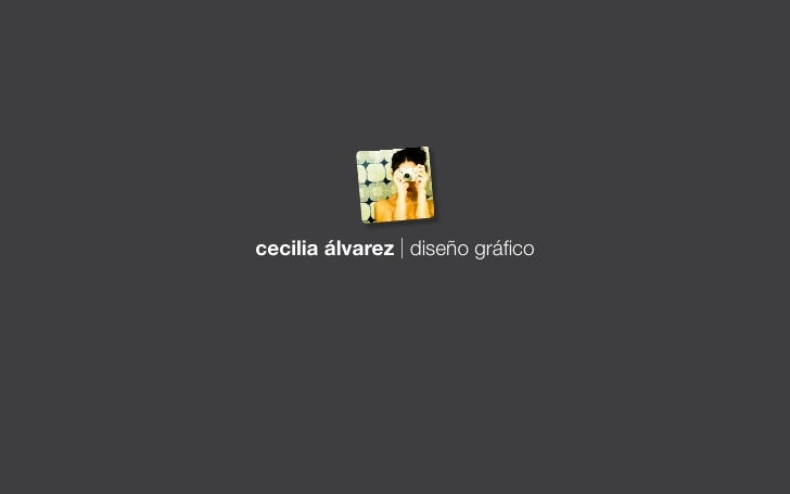 cecilia álvarez | diseño gráfico