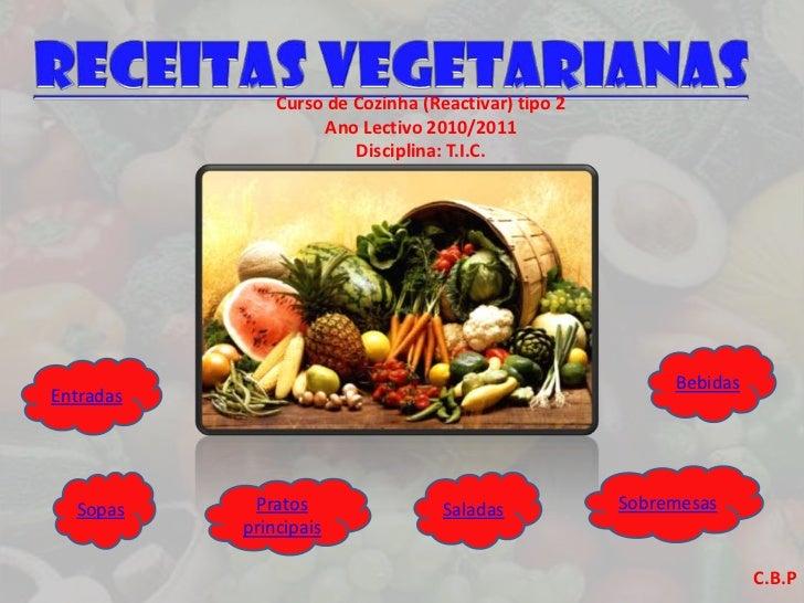 Curso de Cozinha (Reactivar) tipo 2                    Ano Lectivo 2010/2011                        Disciplina: T.I.C.    ...