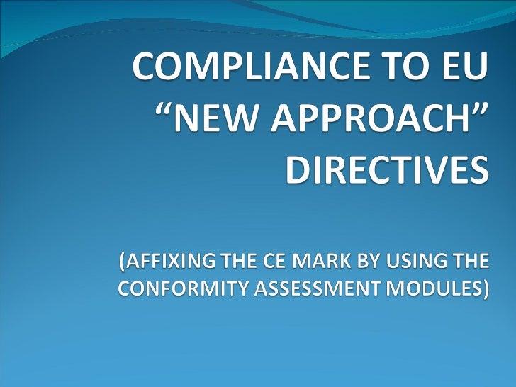 CE Compliance