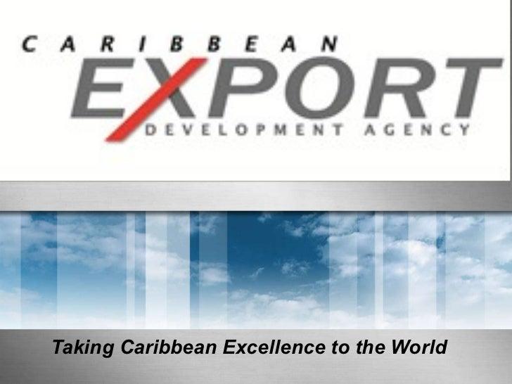 Caribbean Export - CARICOM-Canada Trade Development Forum