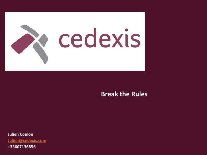 Cedexis - Julien Coulon - Soirée webperf Paris du 29 novembre 2010