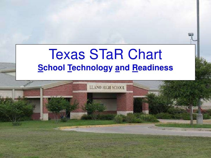 Texas STaR ChartSchool Technology and Readiness<br />