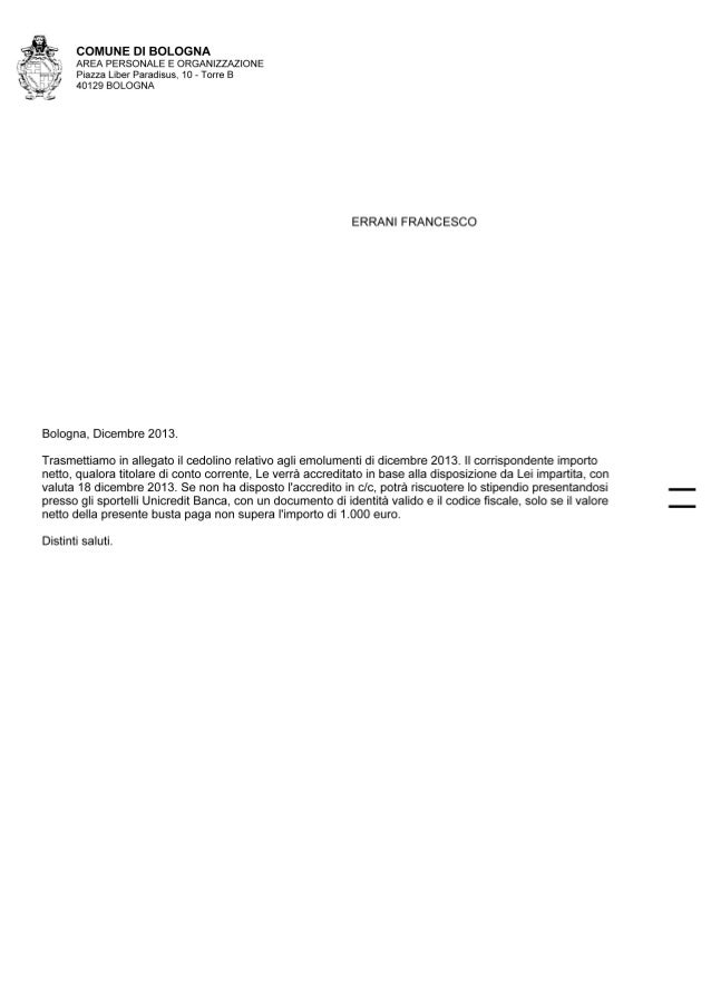 Cedolino 2013 11