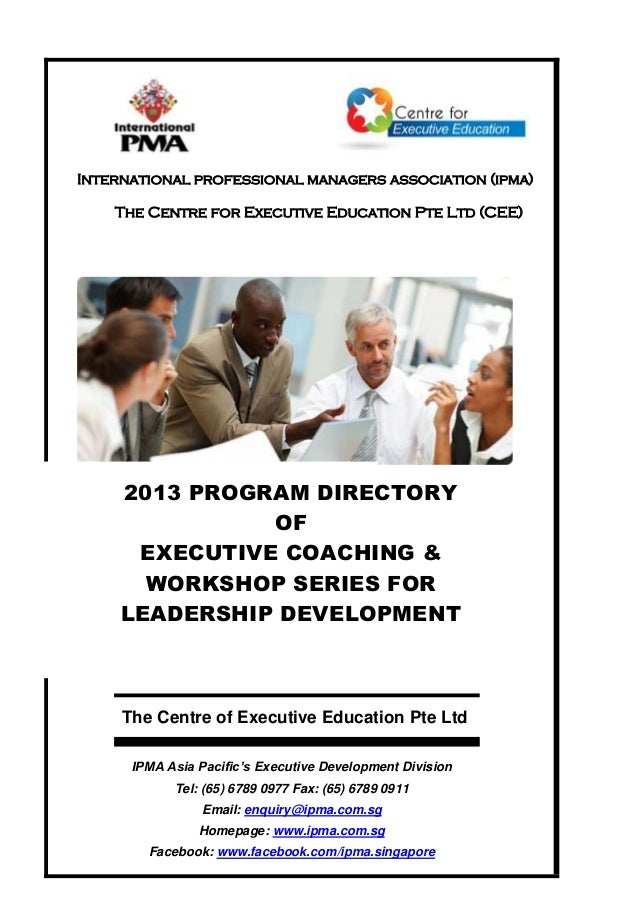 CEE -2013-Executive-Education-Program-Directory
