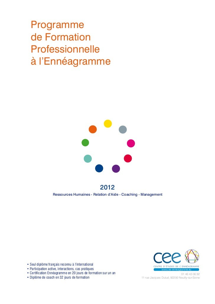 Cee Enneagramme formation 2012