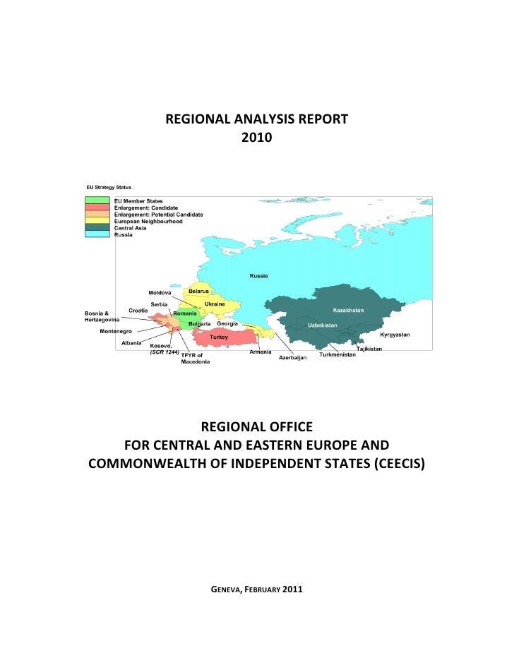 CEECIS Regional Analysis Report 2010