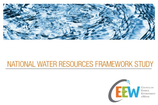 Visualization of NATIONAL WATER RESOURCES FRAMEWORK STUDY done by CEEW
