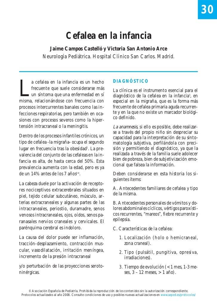 30                                 Cefalea en la infancia                  Jaime Campos Castelló y Victoria San Antonio Ar...