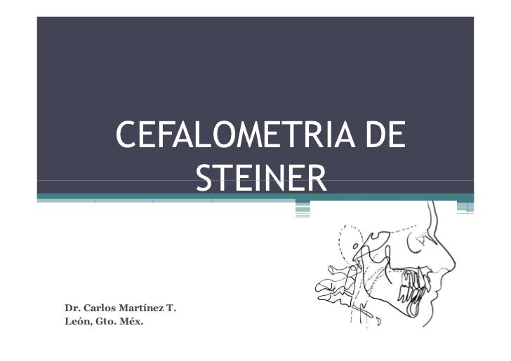 Cefalometria De Steiner
