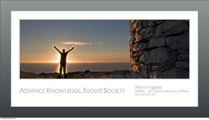 Advance Knowledge, Evolve Society