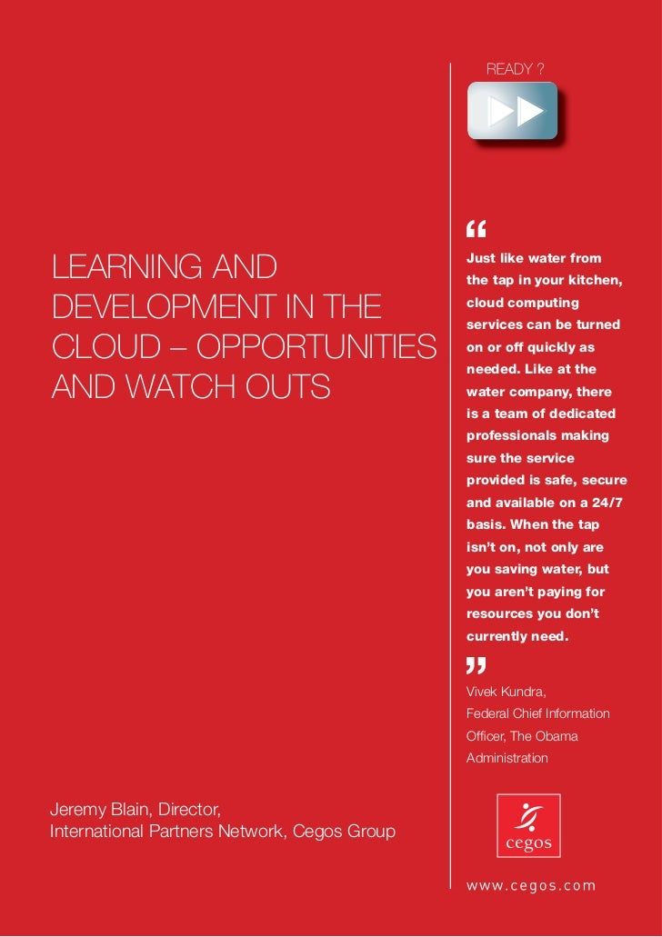 Cegos learning in the cloud white paper   22.8.11