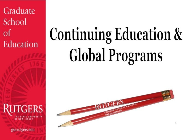 Continuing Education &<br />Global Programs<br />