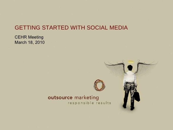 CEHR Social Media Presentation