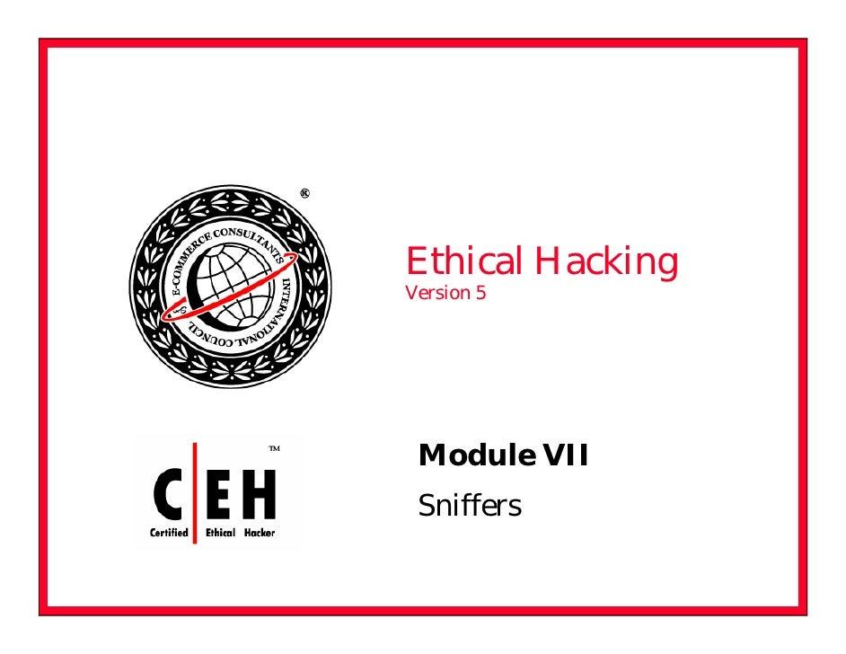 Ceh V5 Module 07 Sniffers