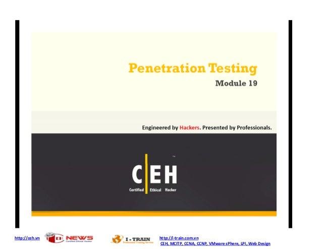 Ce hv7 module 19 penetration testing