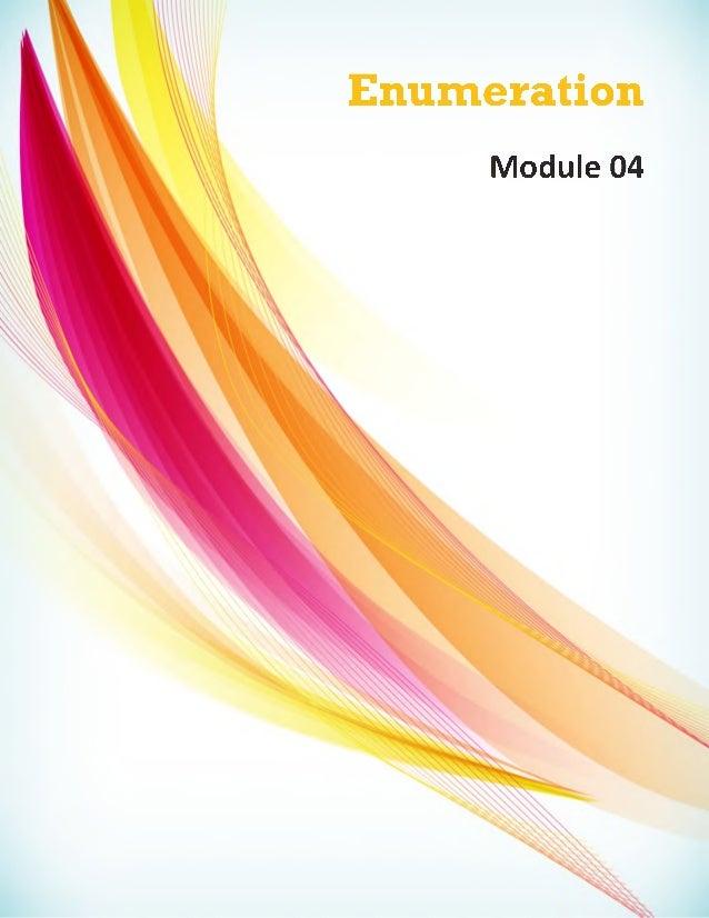 Enumeration Module 04