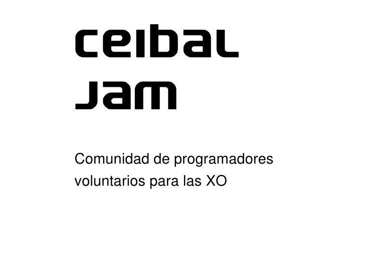 Comunidaddeprogramadores     voluntariosparalasXO