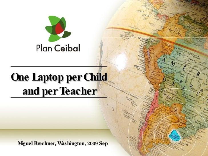 Plan Ceibal Septiembre 2009