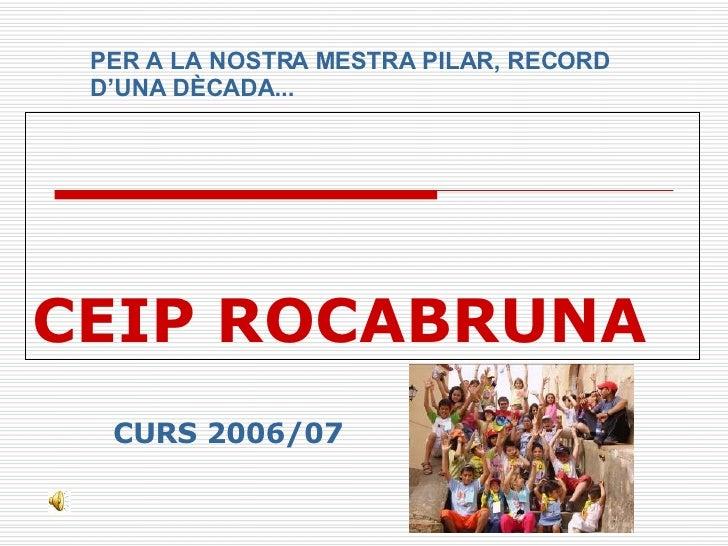 Ceip Rocabruna