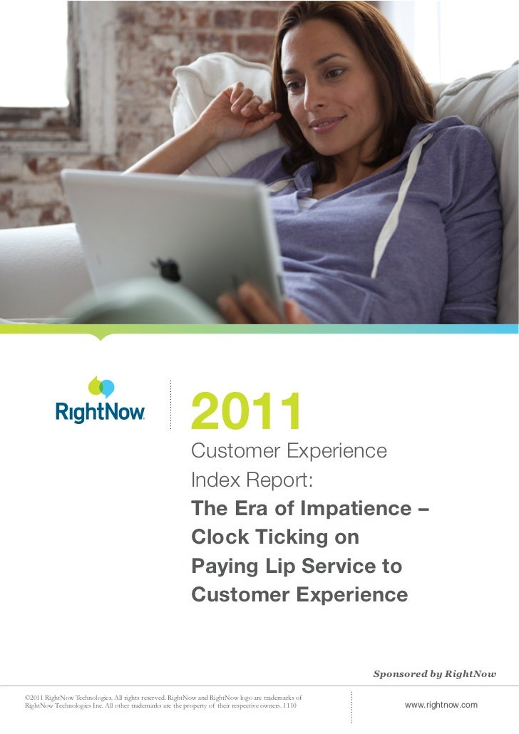 2011                                                          Customer Experience                                         ...