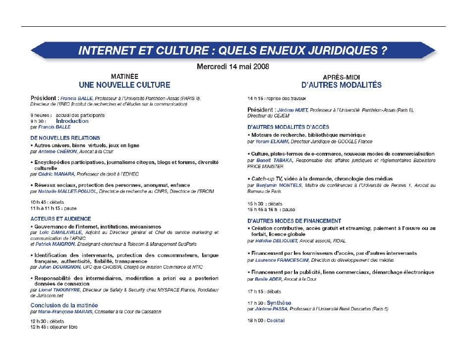 Publier sur internet : restrictions techniques et contractuelles