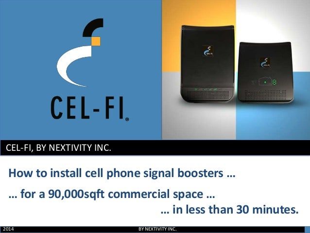 Where To Put Motorola Signal Booster : How to install a cell phone signal booster for