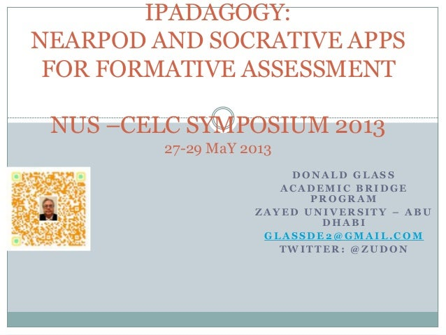 IPADAGOGY: NEARPOD & SOCRATIVE apps for formative assessment