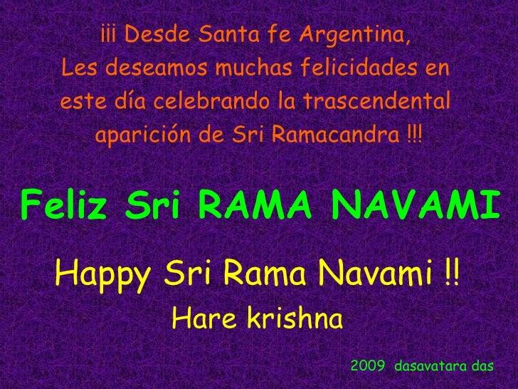 ¡¡¡ Desde Santa fe Argentina,  Les deseamos muchas felicidades en  este día celebrando la trascendental  aparición de Sri ...