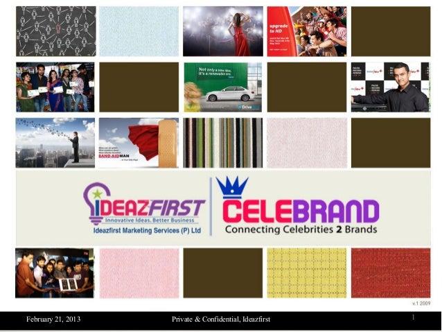 Celebrand - Celebrity Management Services by Ideazfirst