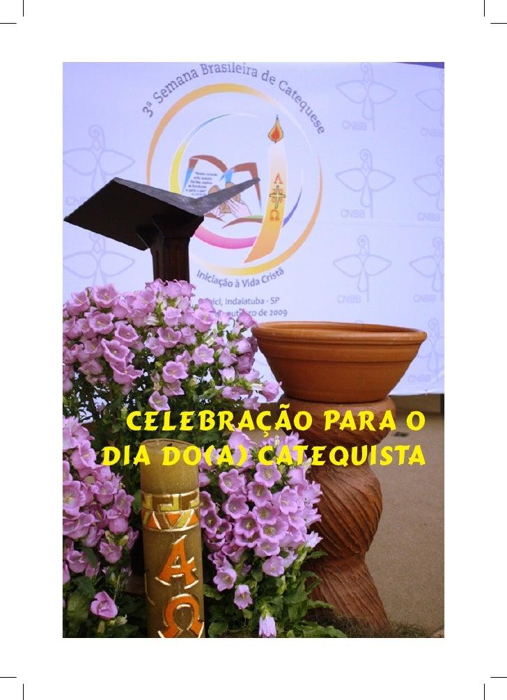 Celebração catequistas ago 2010 formato livro