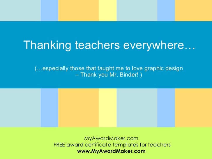 Appeciation For Teachers Everywhere | just b.CAUSE