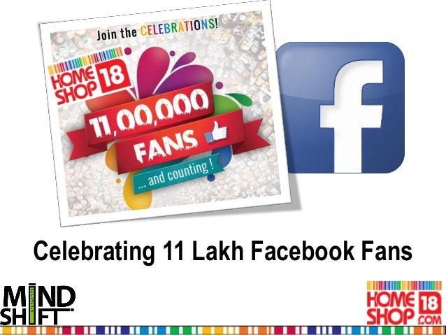 Celebrating 11 Lakh Facebook Fans