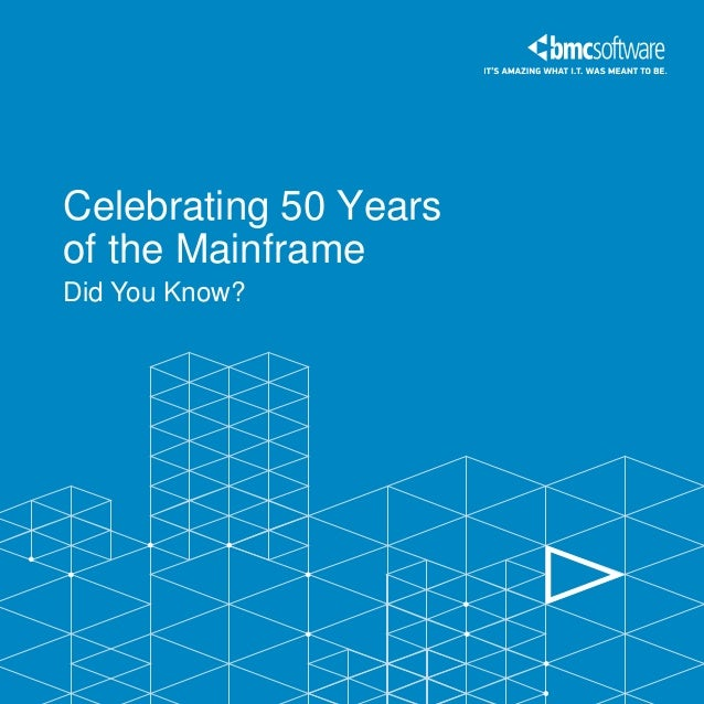 Celebrate Mainframe's 50th Anniversary