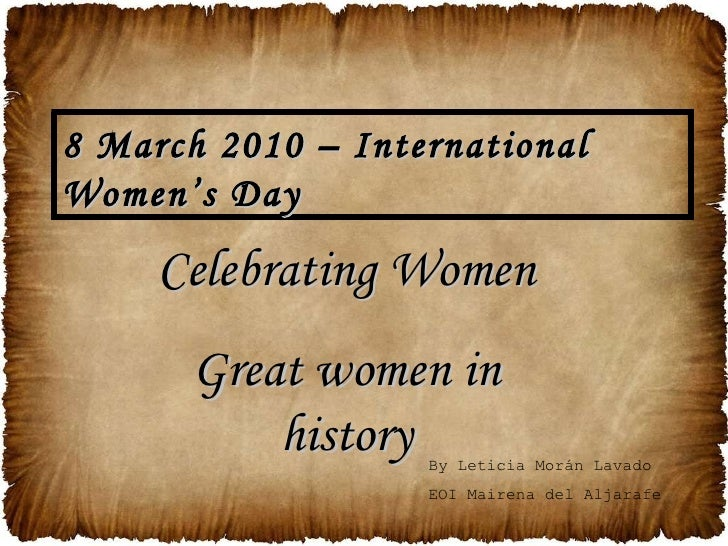 Celebrating Women (Simplified)