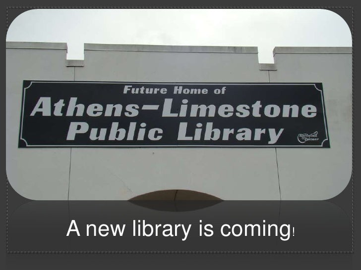 A new library is coming!