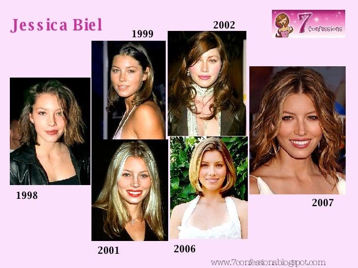 Jessica Biel www.7confessions.blogspot.com 1998 1999 2001 2002 2006 2007