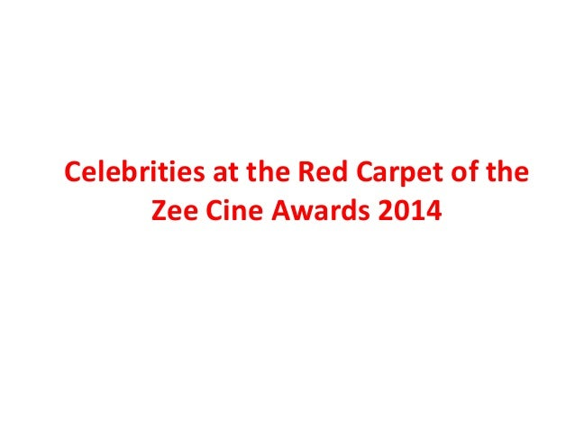 Celebrities At The Red Carpet of The Zee Cine Awards 2014