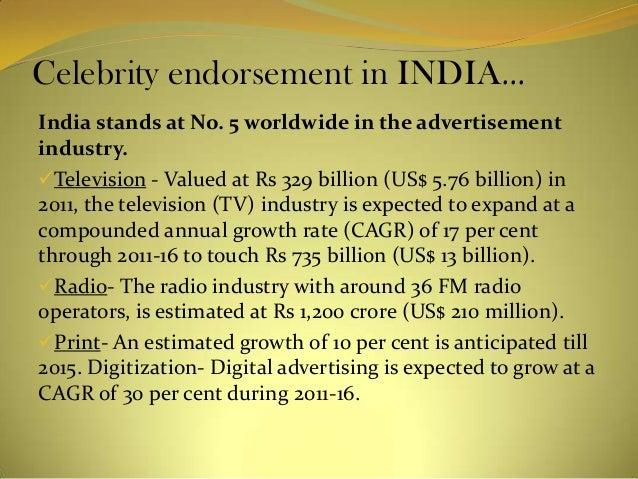 Celebrity Endorsement | INDIAN MEDIA STUDIES