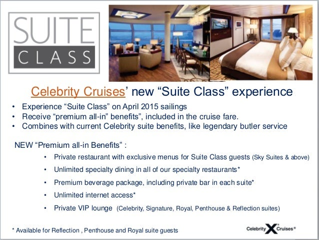Celebrity Cruises: Suite Class - YouTube