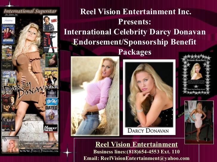 Celebrity Darcy Donavan Endorsement