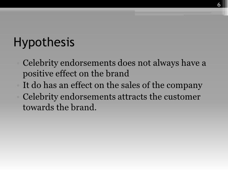 critically evaluate effect of celebrity endorsement Ebscohost serves thousands of libraries with premium essays, articles and other content including the effects of endorsement strength and celebrity-product match on the evaluation of a sports-related product: the role of product involvement.