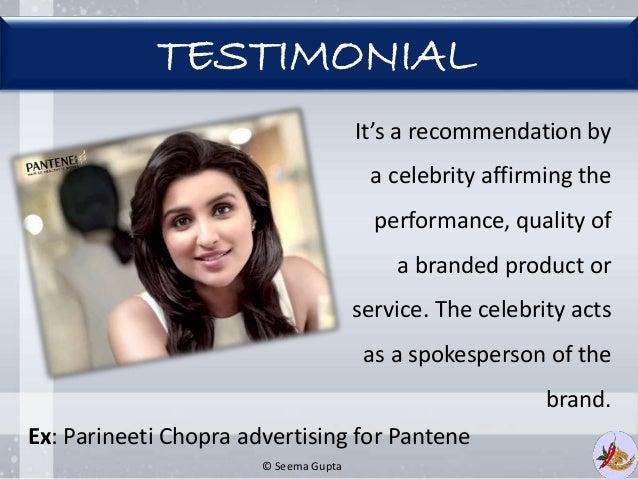 Advantages and disadvantages of celebrity endorsements