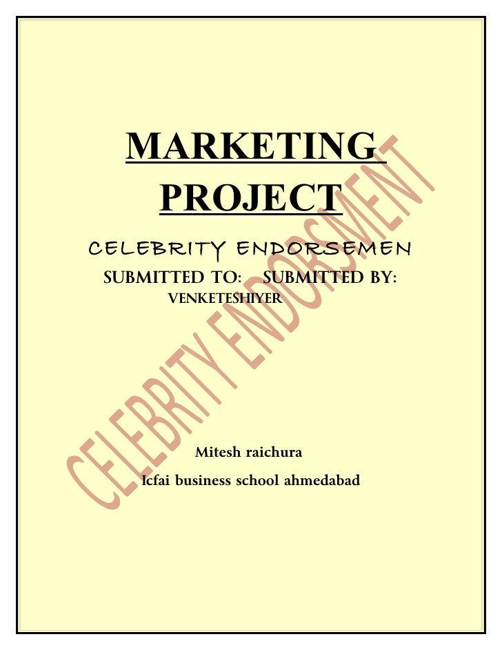 Celebrity endorsement final group2