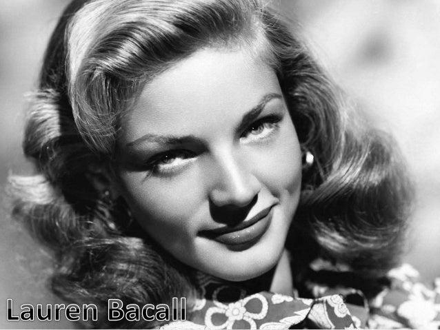 Celebrity Lauren Bacall