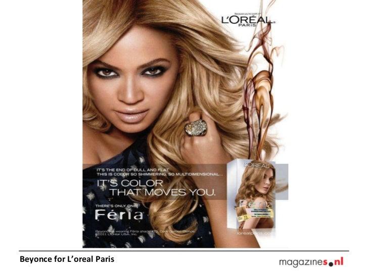 Beyonce for L'oreal Paris
