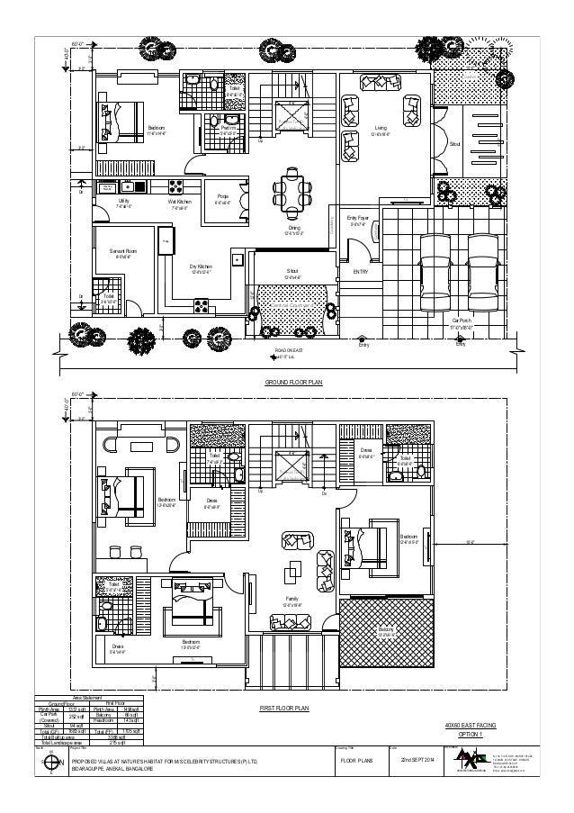 Duplex Home 3 Bhk Plan For 40x60 Joy Studio Design