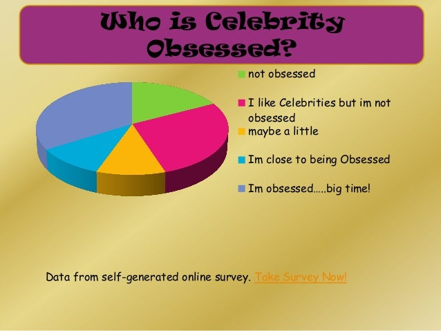 Im not obsessed celebrity